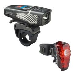 Niterider Lumina™ OLED 950 Boost első lámpa, 950 lumen, kijelzős, USB-ről tölthető, fekete