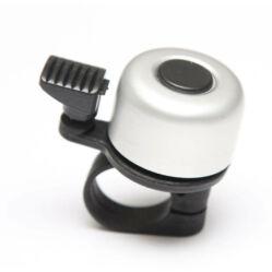 Velotech Billy csengő, alu-műanyag, 35 mm, ezüst színű