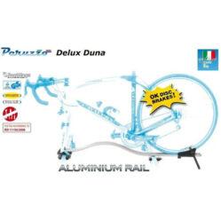 Peruzzo Delux Duna alu sínes kerékpárszállító, tárcsafékhez is, tetőre, keresztlécre