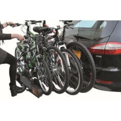 Peruzzo Pure4 Lock kerékpárszállító vonóhorogra, zárható, 4 bringa