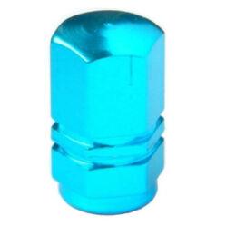 Hatszögletű alumínium szelepsapka, autó szelepes, kék