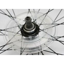 Velotech agyperemre pattintható műanyag küllővédő, 34T, átlátszó