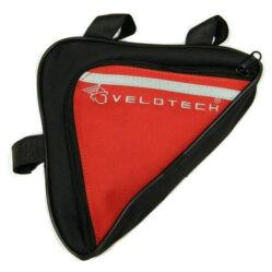 Velotech háromszög váztáska piros