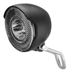 Velotech 1W LED dinamós első lámpa, 10 lux