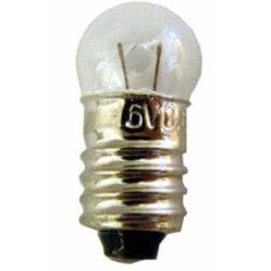 Hagyományos izzó dinamós hátsó lámpába, menetes, 6V / 0,6W