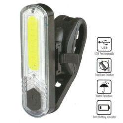 Velotech 10 CHIP LED-es USB-ről tölthető első lámpa