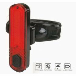 Velotech 10 CHIP LED-es USB-ről tölthető hátsó lámpa
