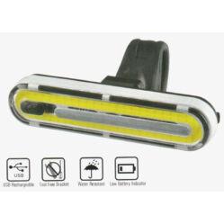Velotech 50 CHIP LED-es USB-ről tölthető első lámpa
