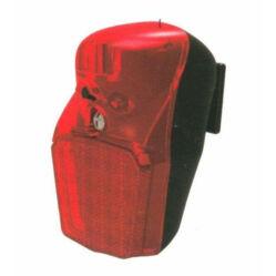 Velotech Retro 1 LED-es elemes hátsó lámpa sárvédőre, piros