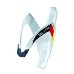 Elite Custom Race kulacstartó, üvegszálas műanyag, fényes fehér - német logó