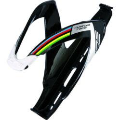 Elite Custom Race kulacstartó, üvegszálas műanyag, fényes fekete - winner logo