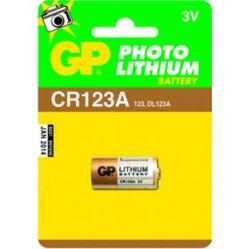 GP CR123A Lithium fotó elem, 1 db