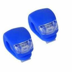 Kalobike 2 LED-es első + hátsó villogó szett, kék