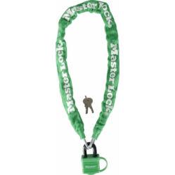 Master Lock 8390 láncos lakat, 90cm x 6mm, zöld