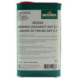 Motorex Brake Fluid DOT 5.1 szintetikus fékfolyadék 185 fok forráspont 1000 ml