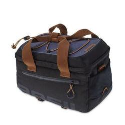 Basil Miles egy részes táska csomagtartóra, felülre, 7L, sötétkék-fekete