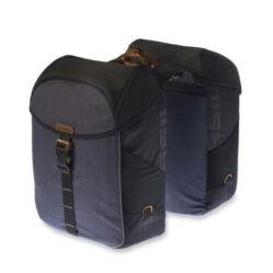 Basil Miles két részes táska csomagtartóra, 32L, sötétkék-fekete