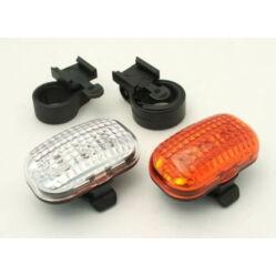 Jing Yi 3 LED lámpa szett, ( első és hátsó), elemek nélkül