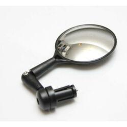 Neuzer visszapillantó tükör kormányvégbe, domború, 75 mm, fekete