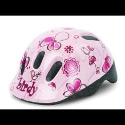 Polisport Baby gyerek bukósisak XXS-es (44-48 cm), rózsaszín, virágmintás