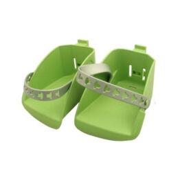 Polisport lábtartó Boodie gyereküléshez, zöld