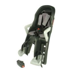Polisport Guppy Mini adapteres gyerekülés előre, szürke-ezüst, DN