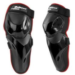 Polisport Y-Shock térdvédő és sípcsontvédő, L-XL, fekete