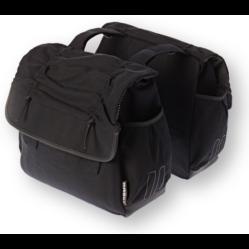 Basil Katharina két részes táska csomagtartóra, 2x18L, fekete