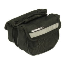 Roswheel Frame két részes felsőcső táska, 14x5x11 cm, 1,5L, fekete