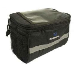 Neuzer kormányra szerelhető, térképtartós táska, fekete