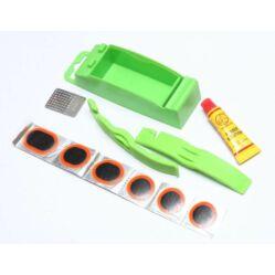 Thumbs Up gumiragasztó defektjavító készlet, gumileszedővel  6 db, 20 mm