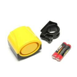 Jing Yi elektromos kerékpár duda, egy szólamú, elemekkel, sárga