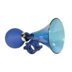 Kerékpár duda, műanyag, kék
