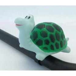 Kerékpár duda, teknős alakú