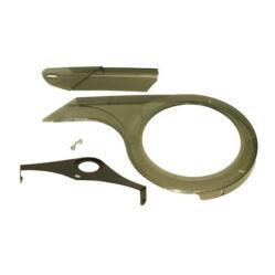Prowheel zárt láncvédő, hajtóművédő, műanyag, 44-48T, füst színű