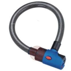 Tonyon kulcsos sodronyzár, 120 cm x 25 mm, füst színű