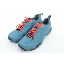 Shimano SH-MT300 SPD MTB kerékpáros cipő, fűzős, kék, 45-ös