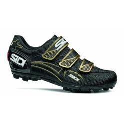 Sidi GIAU Woman MTB 36-os női kerékpáros cipő Fekete-Arany