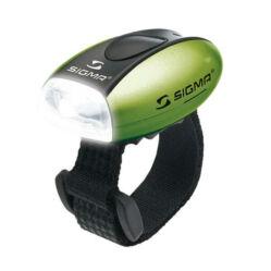 Sigma Micro gumipántos hátsó villogó lámpa, zöld