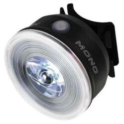 Sigma Sport Mono első lámpa, 0,5W LED, USB-ről tölthető, fekete