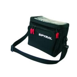 Spyral Basic kormányra szerelhető táska, fekete