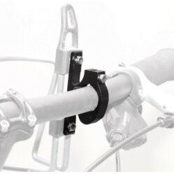 Spyral kulacstartó adapter 22,2mm kormányra, fekete