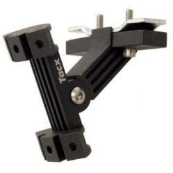 Tacx T6202 kulacstartó konzol nyeregpálcára, 1 vagy 2 db-hoz, műanyag, 113 g, fekete
