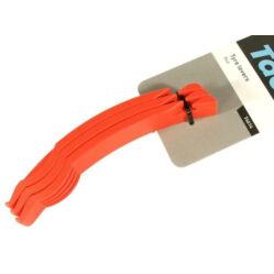 Tacx T4614 műanyag gumileszedő készlet, 3 db, piros