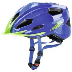 Uvex Quatro Junior gyerek MTB bukósisak, 50-55 cm, kék-zöld