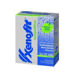 Xenofit Competition izotóniás italpor, 210g (2,5 liter), zöldalma ízű