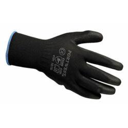 Zoggie szerelőkesztyű, fekete, XL-es (10-es méret - kék)