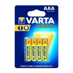 Varta Superlife AAA mikro ceruza elem, 4 db
