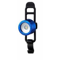 Cateye Nima 2 TL-LD135F gumipántos első villogó lámpa, 1 LED, kék