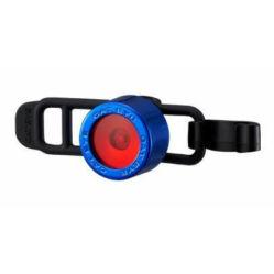 Cateye Nima 2 TL-LD135F gumipántos hátsó  villogó lámpa, 1 LED, kék